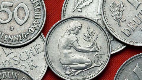 Alte Deutsche Mark Münzen