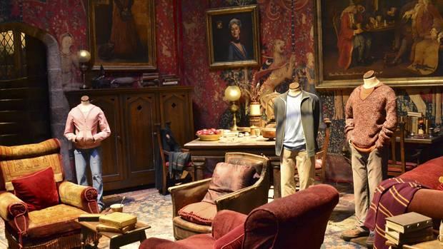 Der Gryffindor-Gemeinschaftsraumin den Warner Bros. Studios