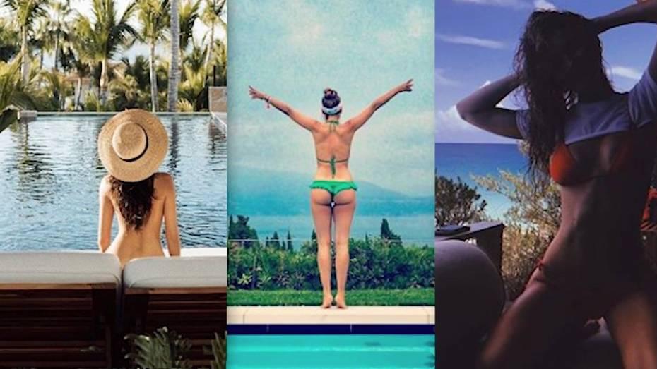 Bikini-Postings auf Instagram: Welche Stars verstecken sich hinter diesen sexy Fotos?