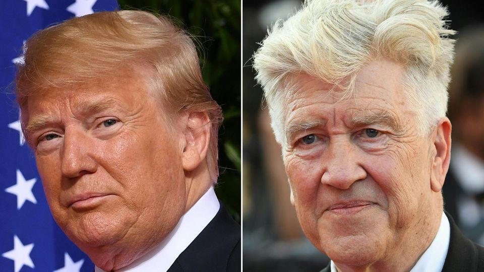Donald Trump und David Lynch
