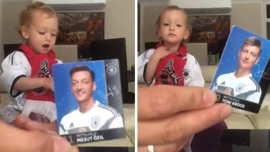 Viraler Hit: Diese Zweijährige kennt den gesamten DFB-Kader auswendig