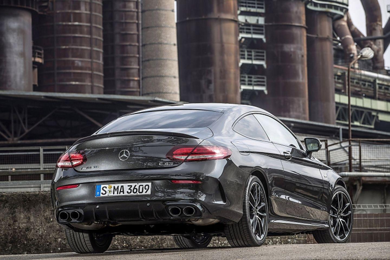 Mercedes AMG C43 Coupé 4matic - dezenter Auftritt mit neuer Heckschürze