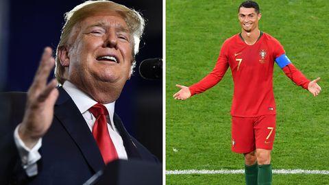 Donald Trump Cristiano Ronaldo