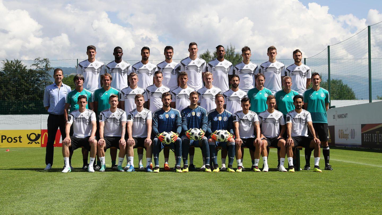 Die deutsche Nationalmannschaft vor der WM 2018 in Russland