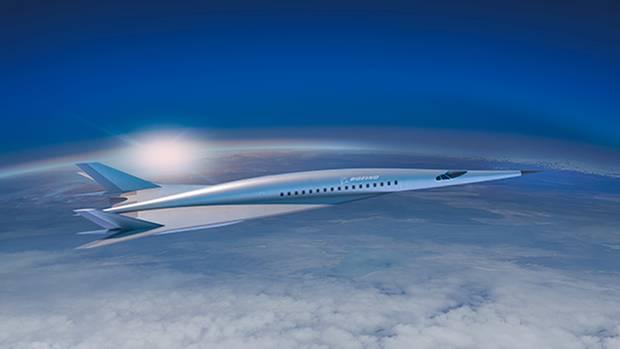 Überschall-Flugzeug von Boeing