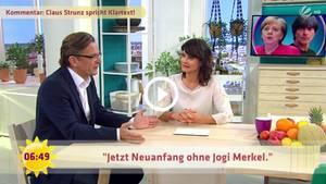 Claus Strunz im Sat.1-Frühstücksfernsehen