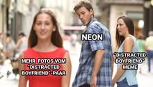 """Distracted Boyfriend""-Meme"