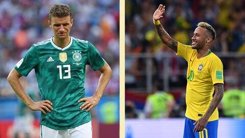 Wie kindisch! Brasilianer feiern Deutschlands WM-Aus wie Titelgewinn