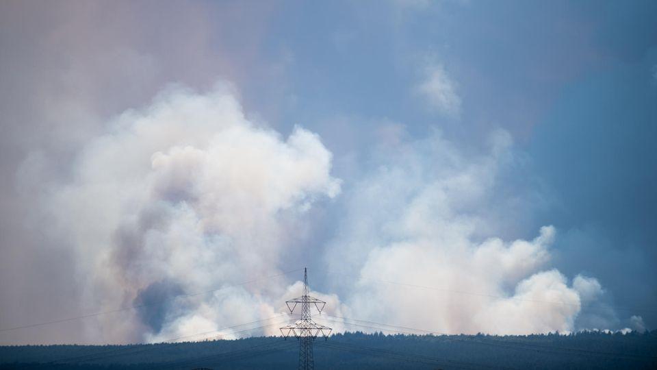 nachrichten deutschland - waldbrand bundeswehr