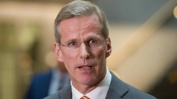 Der gelernte Polizist Clemens Binninger (CDU) leitete den2. NSU-Untersuchungsausschusses des Deutschen Bundestags