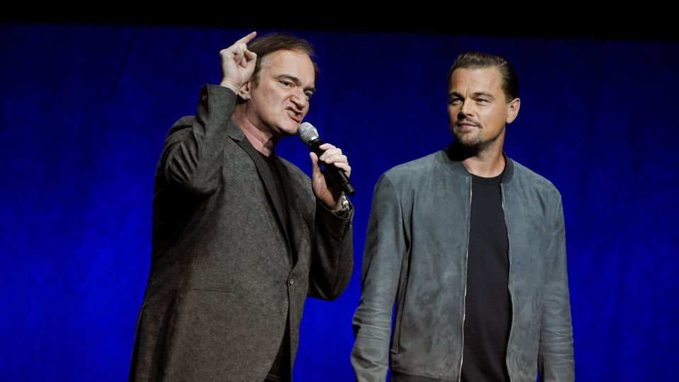 Quentin Tarantino und Leonardo DiCaprio sprechen über ihren neuen Film