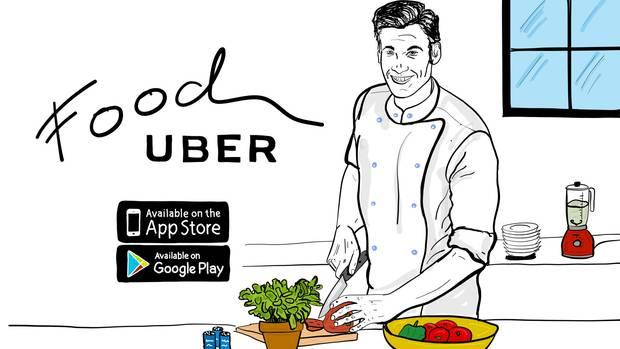 Mit Food Uber kannst du entspannt einen Koch nach Hause bestellen, ohne dass du viel bezahlen musst. Yeah!