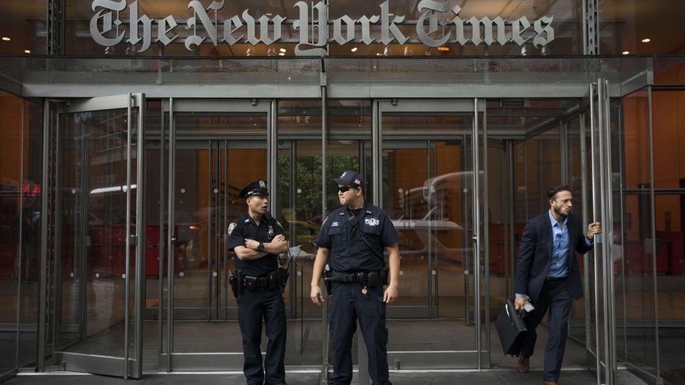 New York Times Sicherheitsmaßnahmen