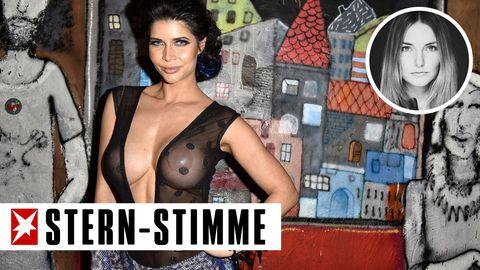 Nacktmodel Micaela Schäfer tummelte sich in den vergangenen Jahren regelmäßig bei der Modewoche in Berlin