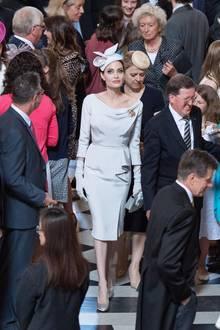 Angelina Jolie beim Gottesdienst in derSt Paul's Cathedral