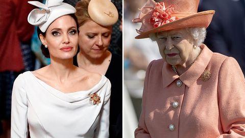 Angelina Jolie besuchte einen Gottesdienst in der St Paul's Cathedral, die Queen fehlte krankheitsbedingt.