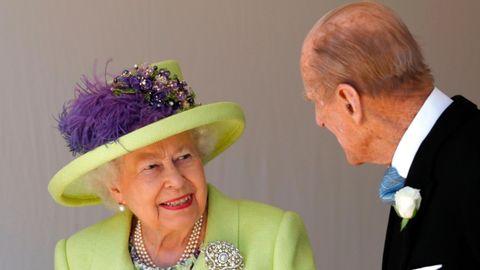 Königin Elisabeth II. und ihr Gatte Prinz Philip