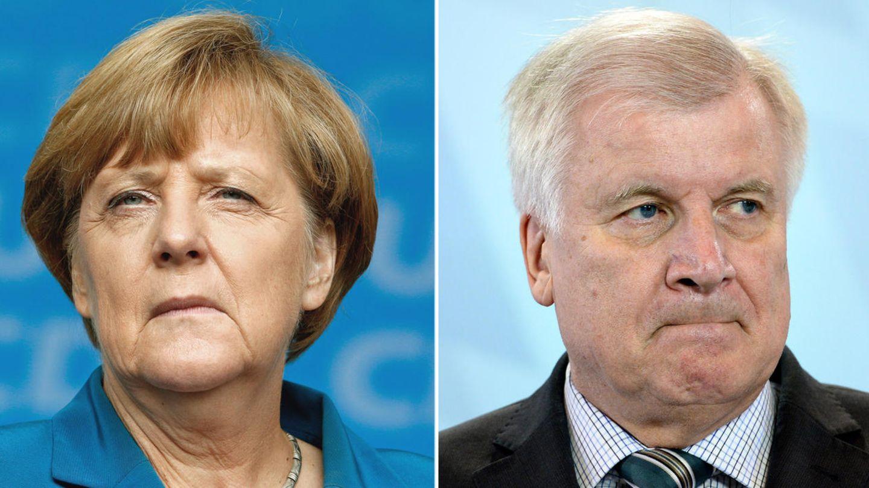 Tischtuch zwischen Angela Merkel und Horst Seehofer sowie CDU und CSU zerschnitten - stern-Leserumfrage