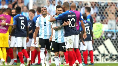 Lionel Messi Kylian Mbappe