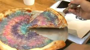 """USA: Restaurant in Santa Monica verkauft Pizza mit """"Einhorn-Kotze"""""""