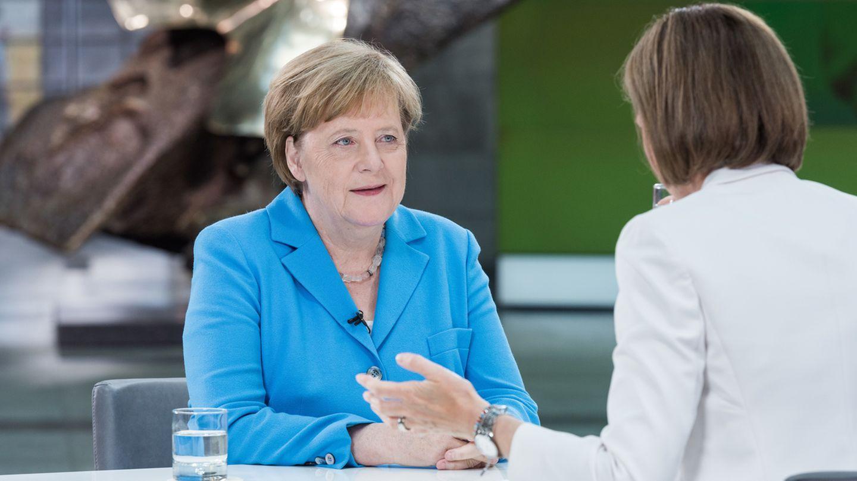 Angela Merkel im ZDF-Sommerinterview