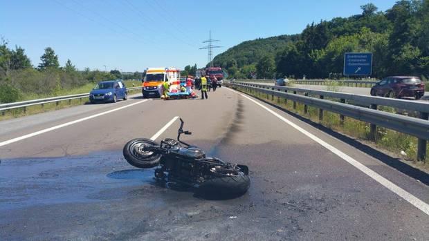 Nachrichten aus Deutschland: Unfall bei Zweibrücken auf der A8