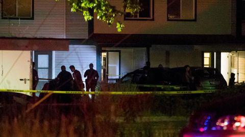 Abgesperrter Tatort in Idaho