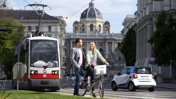 In Wien setzt sich der öffentliche Nahverkehr durch, das lässt sich die Stadt aber auch etwas kosten.
