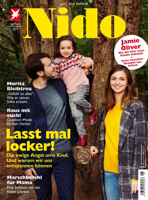 Familiensommer, Yoga, Hunde: Diese Themen stehen in der Juni/Juli-Ausgabe der Nido