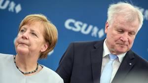 CSU-Chef Horst Seehofer und CDU-Chefin Angela Merkel haben sich geeinigt