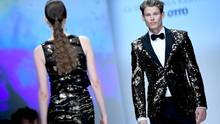 Guido Maria Kretscher bei der Berlin Fashion Week