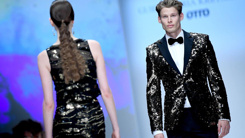 Guido Maria Kretscher bei der Berlin Fashion Week
