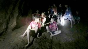Thailand: Seit dem 23. Juni sind die Jungs in einer Höhle eingeschlossen