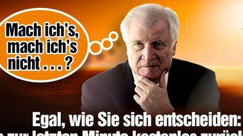 Autovermieter spottet: So macht sich Sixt über Horst Seehofer lustig