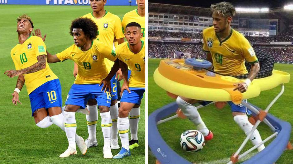 WM-Spiel gegen Mexiko: Er kann es nicht lassen - Neymars neueste Showeinlage sorgt für Spott und Häme