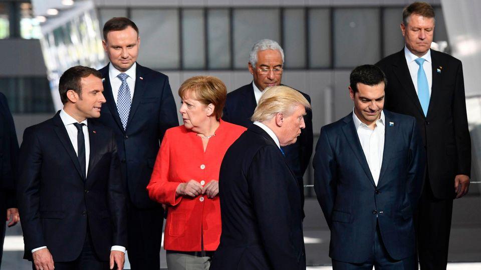 Donald Trump Nato Gipfel
