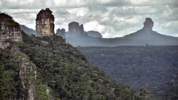 Serranía-de-Chiribiquete-Nationalpark in Kolumbien