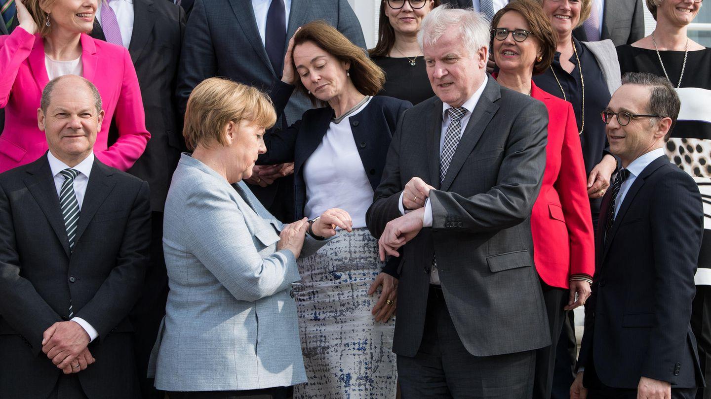 Angela Merkel Horst Seehofer