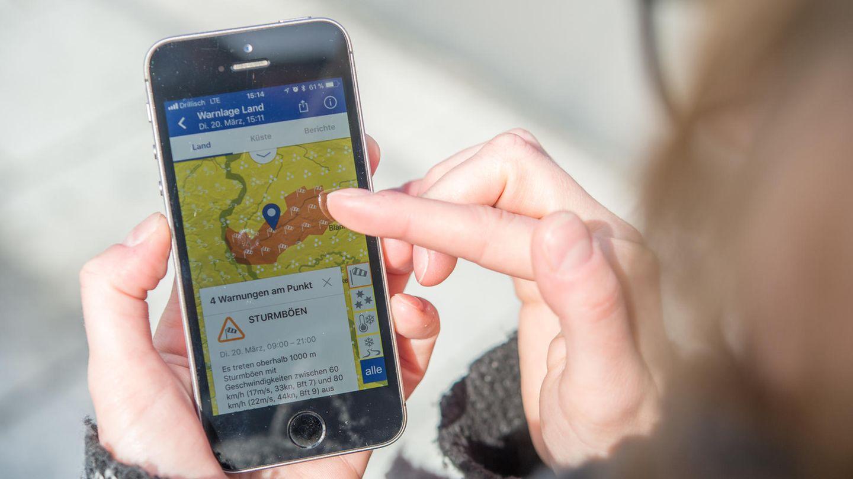 Warum zeigt eigentlich fast jede Wetter-App andere Vorhersagen an?