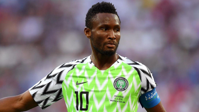 Nigerias Kapitän John Obi Mikel bei der WM 2018