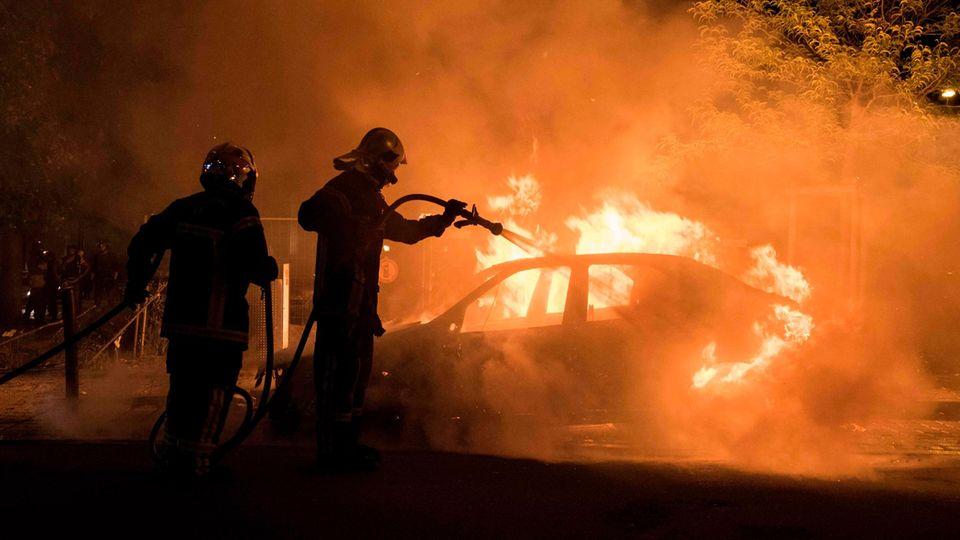 Unruhen in Nantes