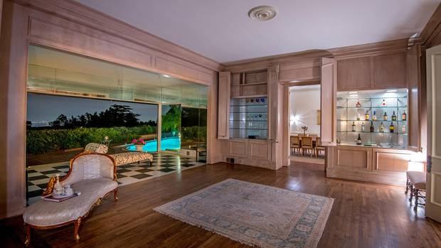 Die Villa diente auch als Filmkulisse für Hollywood-Streifen mitMichael Douglas, Matt Damon und Ben Affleck