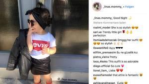 Erst drei Jahre alt und schon Fashionista auf Instagram – zweifelhafter Dank an Mama