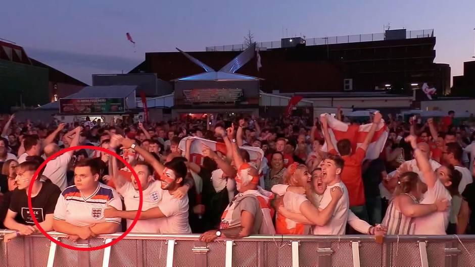 England beim Elfmeterschießen: Das ist der witzigste Public-Viewing-Moment dieser WM