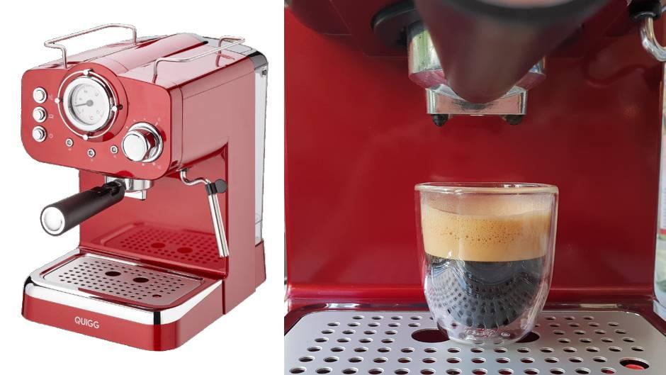 Aldi Nord Kühlschrank Quigg : Aldis siebträger was taugt die espressomaschine für euro