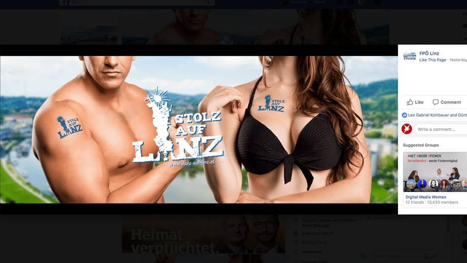 Die Sommerkampagne der FPÖ Linz