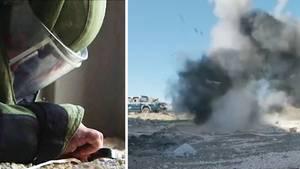 Bombenentschärfer der NATO-Mitgliedsstaaten sind nach Jordanien gereist, um ihre Erfahrungen den dortigen Bombenentschärfern weiterzugeben.