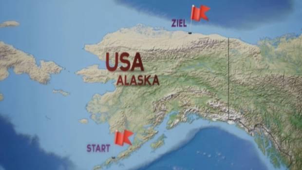 Die Hoepner-Zwillinge wollen – weitgehend aus eigener Kraft mit ihrem Tretfahrzeug – 4000 Kilometer durch Alaska fahren, von den Aleuten bis nach Prudhoe Bay im Norden. Fahren wollen sie hauptsächlich auf zugefrorenen Flüssen.