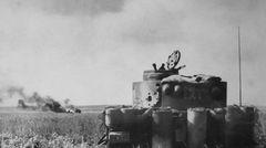 Tiger-Panzer der schweren Panzer Abteilung 505.