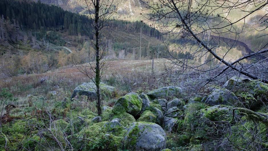 Der Fundort der Leiche: Das Isdal, ein Gletschertal in Norwegen